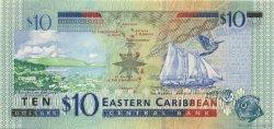 10 Dollars Montserrat CARAÏBES  2003 P.43m NEUF