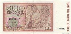5000 Pesos CHILI  2005 P.155e NEUF