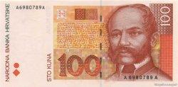 100 Kuna CROATIE  1993 P.32a NEUF