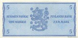 5 Markkaa FINLANDE  1963 P.103 NEUF