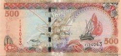 500 Rufiyaa MALDIVES  2006 P.23c pr.NEUF