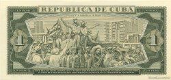 1 Peso CUBA  1981 P.102b NEUF