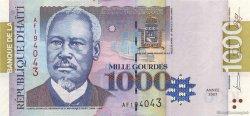 1000 Gourdes HAÏTI  2007 P.278c NEUF