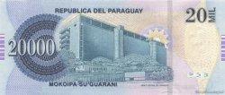 20000 Guaranies PARAGUAY  2007 P.230a NEUF