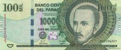 100000 Guaranies PARAGUAY  2007 P.233a pr.NEUF