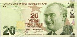 20 Lira TURQUIE  2009 P.224a NEUF