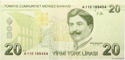 20 Lira TURQUIE  2009 P.224 NEUF