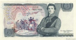 5 Pounds ANGLETERRE  1973 P.378b SPL+