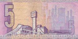 5 Rand AFRIQUE DU SUD  1990 P.119d TTB