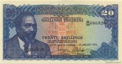 20 Shillings KENYA  1975 P.13b NEUF