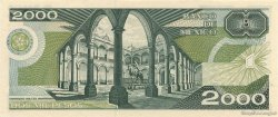2000 Pesos MEXIQUE  1989 P.086c NEUF