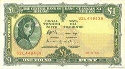 1 Pound IRLANDE  1976 P.064d TTB