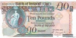 10 Pounds IRLANDE DU NORD  2008 P.080 NEUF