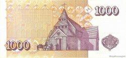 1000 Kronur ISLANDE  2001 P.60 pr.NEUF