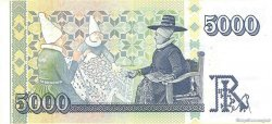 5000 Kronur ISLANDE  2001 P.60 pr.NEUF
