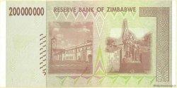 200 Millions Dollars ZIMBABWE  2008 P.81 SUP