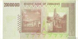 200 Millions Dollars ZIMBABWE  2008 P.81 SPL