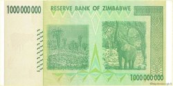 1 Billion Dollars ZIMBABWE  2008 P.83 SUP
