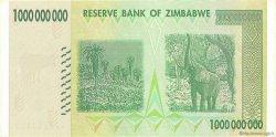 1 Billion Dollars ZIMBABWE  2008 P.83 Pr.NEUF