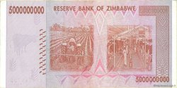 5 Billions Dollars ZIMBABWE  2008 P.84 TTB
