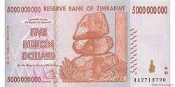 5 Billions Dollars ZIMBABWE  2008 P.84 pr.NEUF
