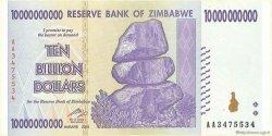 10 Billions Dollars ZIMBABWE  2008 P.85 SUP