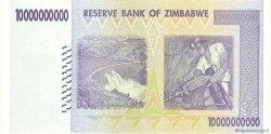 10 Billions Dollars ZIMBABWE  2008 P.85 SPL