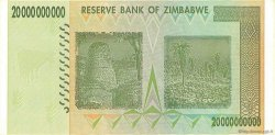 20 Billions Dollars ZIMBABWE  2008 P.86 SPL