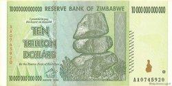 10 Trillions Dollars ZIMBABWE  2008 P.88 SUP