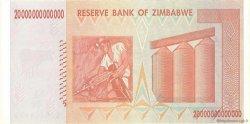 20 Trillions Dollars ZIMBABWE  2008 P.89 NEUF