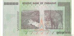 50 Trillions Dollars ZIMBABWE  2008 P.90 NEUF