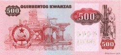 500 Novo Kwanza sur 500 Kwanzas ANGOLA  1987 P.123 NEUF