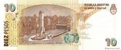 10 Pesos ARGENTINE  2003 P.354 NEUF