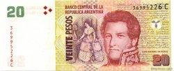 20 Pesos ARGENTINE  2003 P.355 NEUF