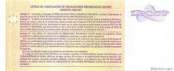 10 Pesos Valor Nominal ARGENTINE  2006 P.-- NEUF