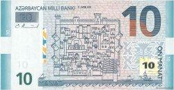10 Manat AZERBAIDJAN  2005 P.27 pr.NEUF