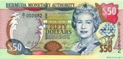 50 Dollars BERMUDES  2000 P.54a pr.NEUF