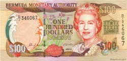 100 Dollars BERMUDES  2000 P.55a pr.NEUF