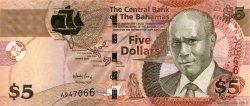 5 Dollars BAHAMAS  2007 P.72 NEUF