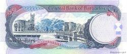 2 Dollars BARBADE  2000 P.60 NEUF