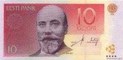 10 Krooni ESTONIE  2006 P.86a NEUF