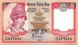 5 Rupees NÉPAL  2005 P.53 NEUF