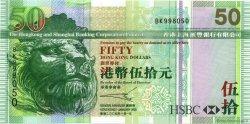 50 Dollars HONG KONG  2005 P.208a pr.NEUF