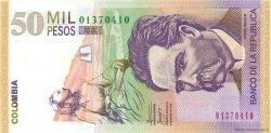 50000 Pesos COLOMBIE  2005 P.455e NEUF