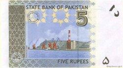 5 Rupees PAKISTAN  2008 P.52 NEUF