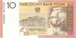 10 Zlotych POLOGNE  2008 P.179 NEUF