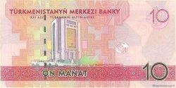 10 Manat TURKMÉNISTAN  2009 P.24a NEUF