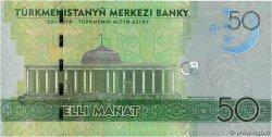 50 Manat TURKMÉNISTAN  2009 P.26 NEUF