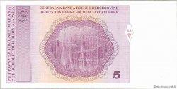 5 Convertible Maraka BOSNIE HERZÉGOVINE  1998 P.061a NEUF
