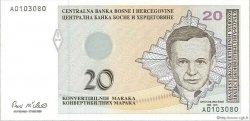 20 Convertible Maraka BOSNIE HERZÉGOVINE  1998 P.065a NEUF